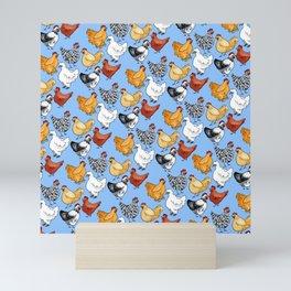 Chicken Skin Mini Art Print