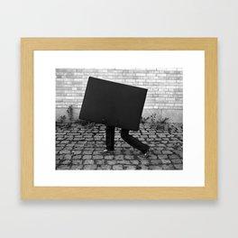 Case with legs Framed Art Print