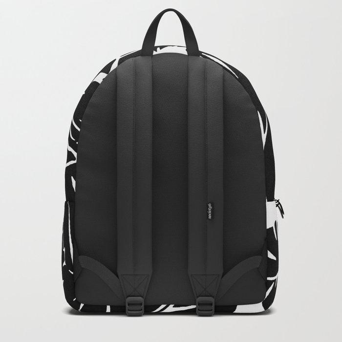 PALM LEAF BLACK Backpack
