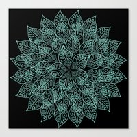 emerald Canvas Prints featuring emerald by Sproot