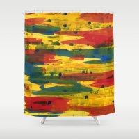 camo Shower Curtains featuring Camo by Dariush Nejad