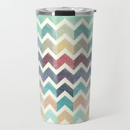 Glitter Chevron IV Travel Mug