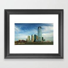 New Jersey Framed Art Print