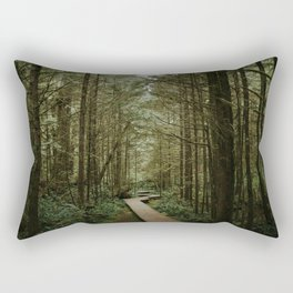 Temperate Rainforest Trail Rectangular Pillow