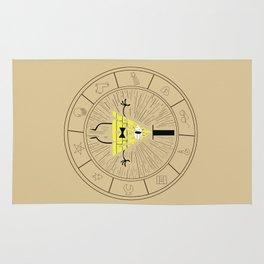 Bill Cipher summoning Rug