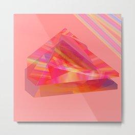 pinky piramides Metal Print