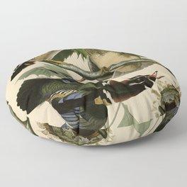 206 Summer or Wood Duck Floor Pillow