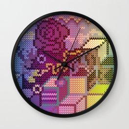 spectrum rosedeer Wall Clock