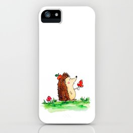Howie the Hedgehog iPhone Case