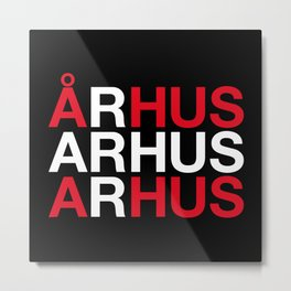 ARHUS Metal Print