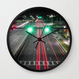 The Light and The Eyes Wall Clock