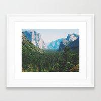 narnia Framed Art Prints featuring Pseudo Narnia by floramingo