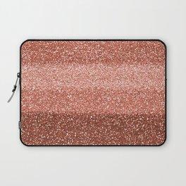 Rose Gold Sparkle Laptop Sleeve
