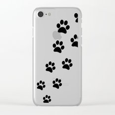 Cat Paws Clear iPhone Case