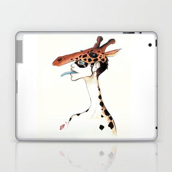 The Masquerade:  The Giraffe Laptop & iPad Skin