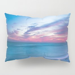 If By Sea - Sunset and Emerald Waters Near Destin Florida Pillow Sham