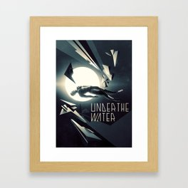 Under the Water Framed Art Print