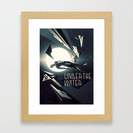 Under the Water Framed Art Print