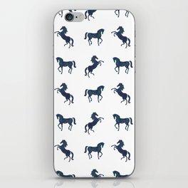 Where the blue horses run iPhone Skin