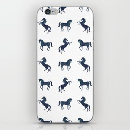 Where the blue horses run iPhone Skin