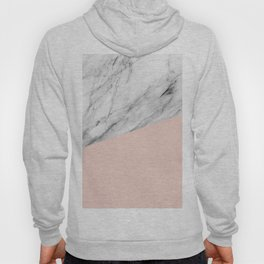 Marble and Pale Dogwood Color Hoody