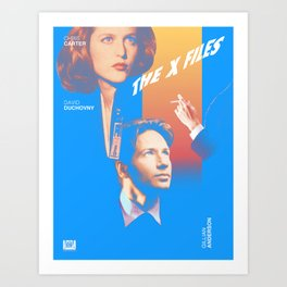 Mulder, Is That You? Art Print