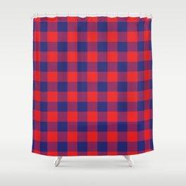 Plaid African Shower Curtain