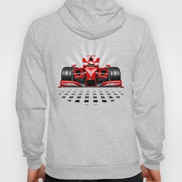 Formula 1 Red Race Car Hoody