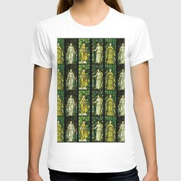 "William Morris ""Four seasons"" (Dining Room at Cragside House, Northumberland, UK) T-shirt"