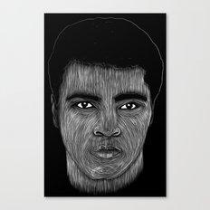 Mohamed Ali 2 Canvas Print