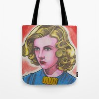 ginger Tote Bags featuring Ginger by Anna Gogoleva