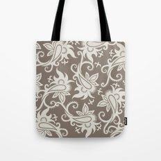Paisley: Taupe  Tote Bag