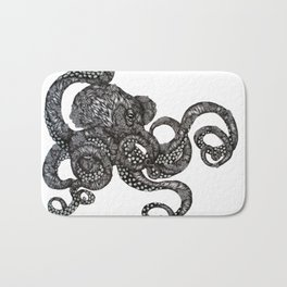 Barnacle Octopus Bath Mat