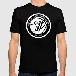 """West 4th """"The Cage"""", Greenwich Village, New York City Basketball T-shirt"""