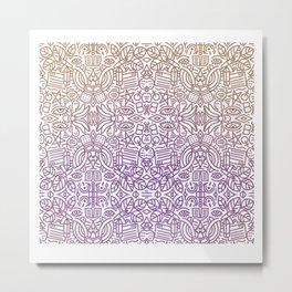 Decorative Pattern 2 Metal Print