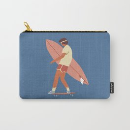 Surf poster Carry-All Pouch