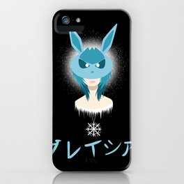 Glaceon Girl iPhone Case