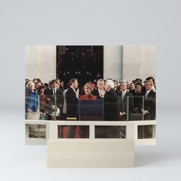 Ronald Reagan Inauguration - 1981 Mini Art Print