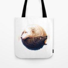 Ninja Wolfs Tote Bag