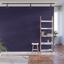 Gothic purple stripes Wall Mural