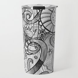 octupi heart Travel Mug