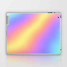 Colorful Gradient Abstract Rainbow Pattern Holographic Foil Laptop & iPad Skin