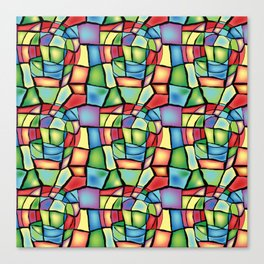 Stained-glass Canvas Print