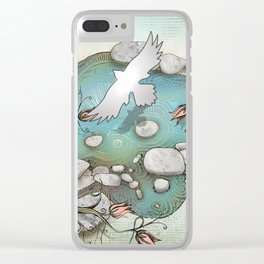 Pemigawasset, The Four Elements Clear iPhone Case