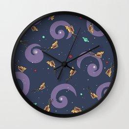 This Way Up -- Pattern Wall Clock