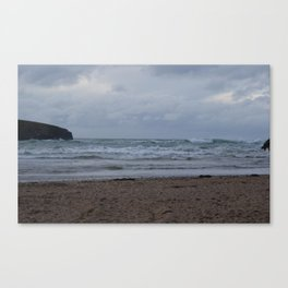 Cornwall Waves 1674 Canvas Print