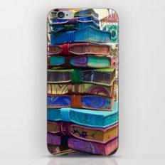 Hand MAde Books In Venice iPhone & iPod Skin