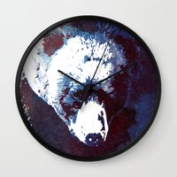 death Wall Clocks featuring Death run by Robert Farkas