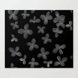 Le Fantôme De Fleurs  Canvas Print