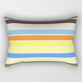 The colors of - to to ro Rectangular Pillow